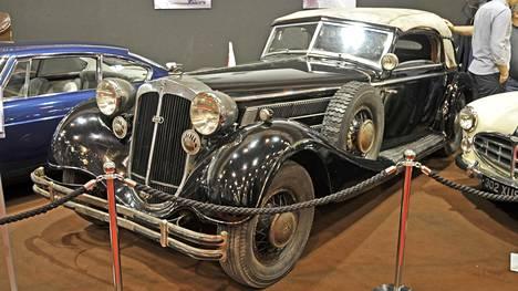 Tämä Saksan Essenissä esillä oleva auto on ollut monessa mukana.