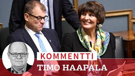 Kommentti: Kepu kantaa Berner-taakkaa Sipilän päätöksellä vaaleihin saakka