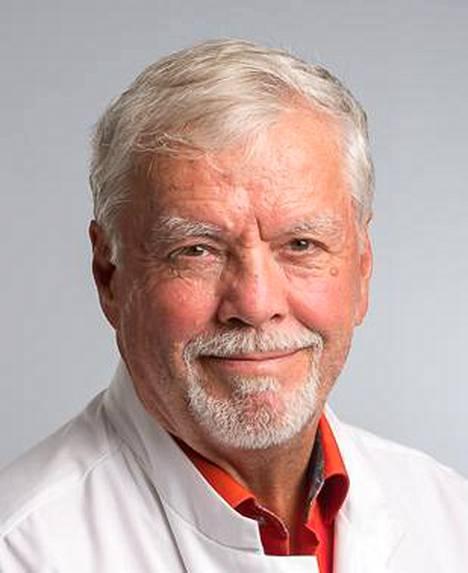 Emeritusprofessori ja korvalääkärin Jukka Ylikoski.