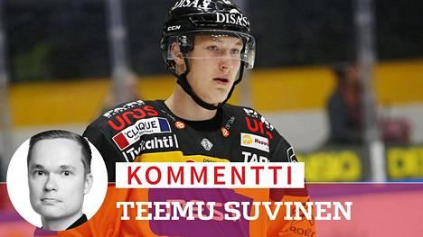 Aatu Räty lähti varauskauteensa kovin odotuksin, mutta peliaikaa liigajoukkueesta ei ole herunut.