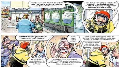 Orivesi tunnetaan Tarmo Koiviston klassisen Mämmilä-sarjakuvan kuvitteellisen Mämmilän esikuvana.