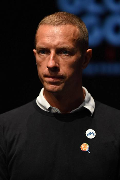 Chris Martin on tunnettu ympäristöasioiden puolestapuhuja.