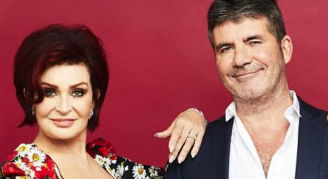 Sharon Osbourne ja Simon Cowell ovat kuuluneet X Factorin tuomaristoon vuosia.