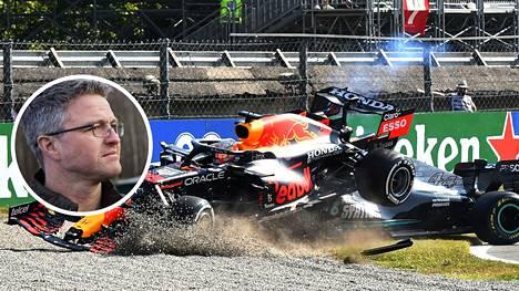 Ralf Schumacher on entinen F1-kuljettaja.