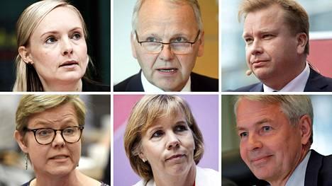 Rinteen Hallituksen Ministerit