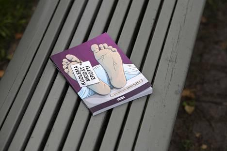Kuolema meidät erotti on Harri Filpan neljäs sarjakuvakirja.