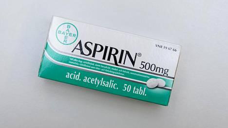 Aspiriinilla voi ehkäistä paksusuolen syöpää.