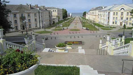 """""""Odessan portaat"""" on sanapari, joka puhuttelee filmihulluja. Tavalliselle turistillekin Sillamäen portaiden Suomenlahdelle avautuva näkymä on pysäyttävä."""