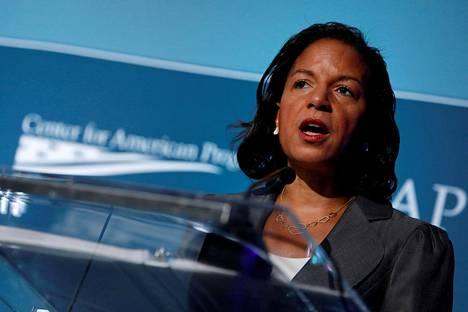 Susan Rice on CNN:n mukaan etenkin viime viikkojen aikana noussut vahvaksi ehdokkaaksi.