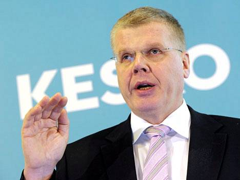 Keskon pääjohtaja Matti Halmesmäki.
