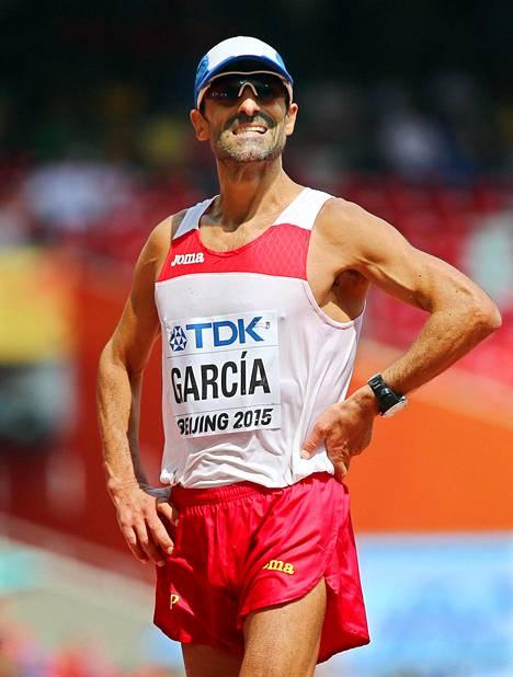 Viime kesänä Pekingin MM-kilpailuissa Jesús Ángel Garcia oli 50 kilometrillä yhdeksäs.