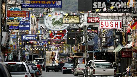 Thaimaan Pattaya on suomalaisten turistien suosiossa.