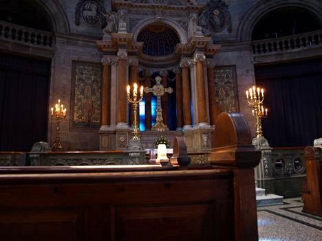 Kuva ei liity artikkeliin. Mikäli juuri tämä tanskalainen kirkko käyttää Churchixia, se on puhdasta sattumaa.