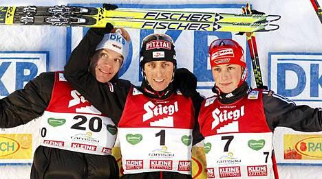 Mario Stecherillä oli täydellinen viikonloppu.