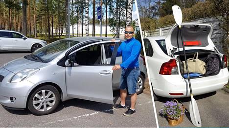 Espoolainen Kim Korhonen laittoi perheen kakkosauton vuokralle. Mies harmittelee suomalaisten vähäistä intoa jakamistalouteen.