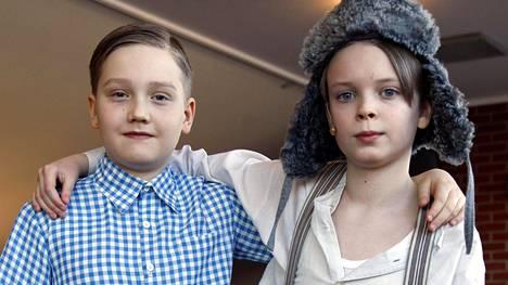 Severi Muje ja Niila Nousiainen pitävän näyttelemisestä.