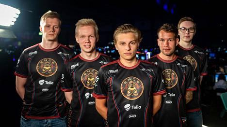 ENCE on tänä voittanut SM-kullan lisäksi ison kansainvälisen turnauksen Ukrainassa.