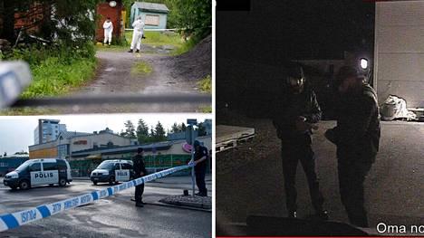 Poliiseja on ammuttu viime vuosina Porvoossa, Vihdissä ja Hyvinkäällä.