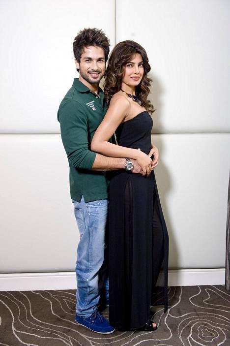 Priyanka Chopra seurusteli Shahid Kapoorin kanssa vuodesta 2009 vuoteen 2011.