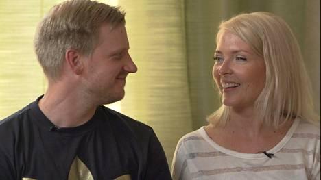 Miia ja Olli olivat naimisissa noin vuoden verran rakkauskokeen jälkeen.