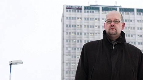 Eläkejohtaja Jaakko Kiander.