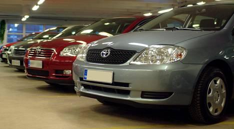 Etualan vuoden 2003 Toyota Corolla on suosituin henkilöauto lähes puolessa Suomen maakunnista.