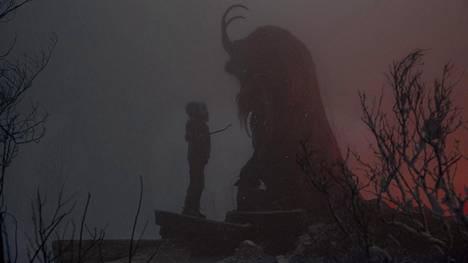 Puhu pukille! Joulun lumimyrsky tuo kauhukomediassa tullessaan tuhmuudesta rankaisevan Krampus-hirviön.