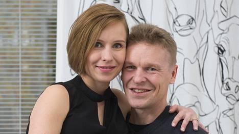 Toni ja Heidi Nieminen saavat kesävauvan.