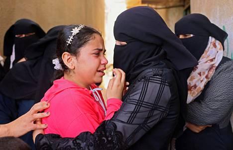 Sukulaiset surivat Israelin tekemässä ilmaiskussa kuollutta miestä.
