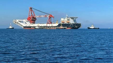Nord Stream 2 kulkee Itämeren lävitse.