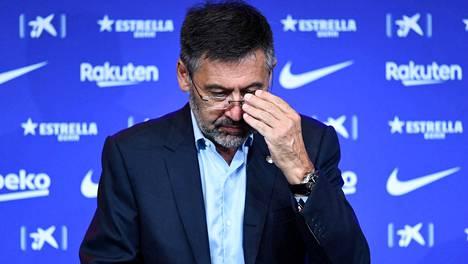 Josep Maria Bartomeu on päässyt väliaikaiseen vapauteen.