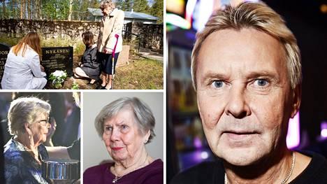 Matti Nykäsen lähisukulaiset – Vieno-äiti sekä sisarukset – muistelevat edesmennyttä mäkihyppylegendaa päivittäin.
