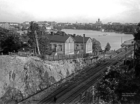 5. Eläintarhan huvila numero 14 vuonna 1907.