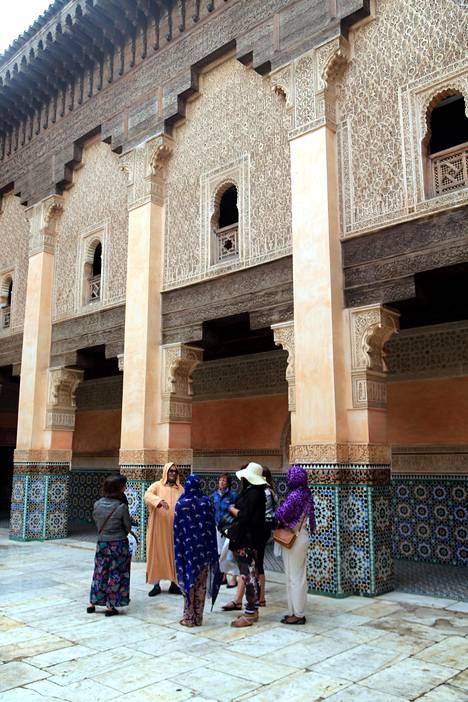 Marrakech Marokossa on värikäs paikka.