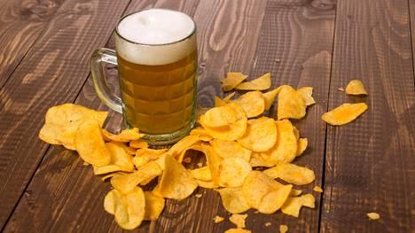 Sekä sipsit että olut keksittiin ilman suurempia suunnitelmia.