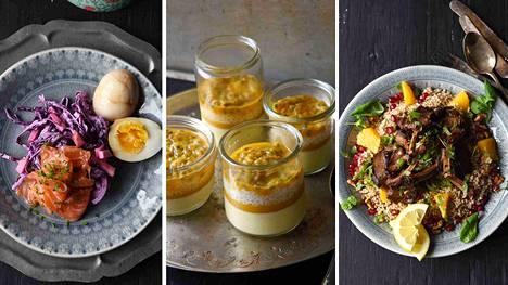 Ohjeet pääsiäisen juhla-ateriaan: Lammasta, punakaalislaw, graavilohi ja taivaallinen jälkiruoka