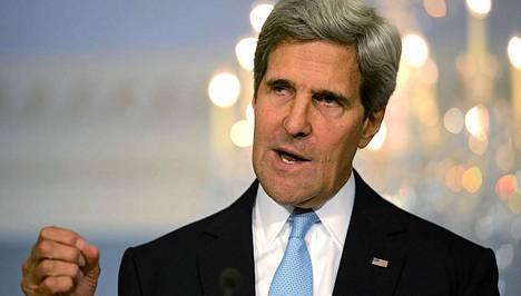 John Kerryn mukaan lisätestit paljastavat hermokaasun käytön.