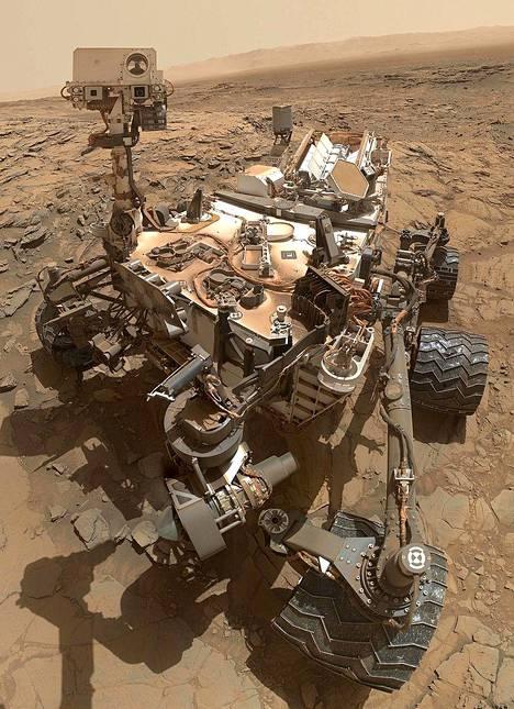 Curiosity Marsissa lokakuussa 2015.