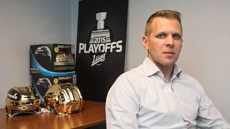 Jyri Rönn on työskennellyt SM-liigan erotuomarijohtajana kesästä 2015 lähtien.