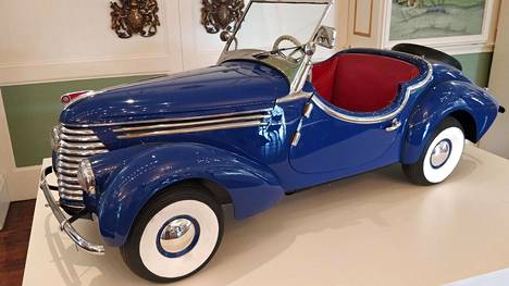 Škoda Popularia valmistettiin jo toisen maailmansodan aikana.