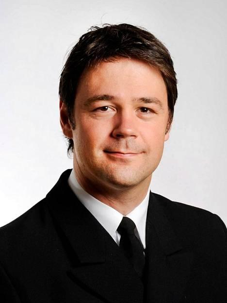Komentajakapteeni Thomas Slensvik opettaa Norjan maanpuolustuskorkeakoulussa muun muassa strategiaa.