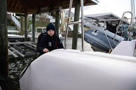 Greta Thunberg saapuu lähipäivinä Eurooppaan La Vagabonde -aluksella.