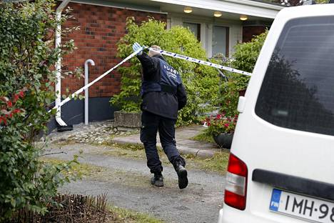 Poliisi teki teknistä tutkintaa 11. syyskuuta Tampereen Lielahdessa.