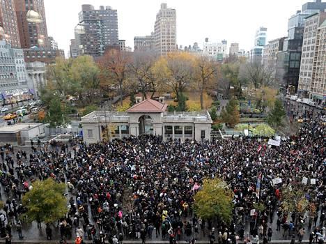 Occupy Wall Street -tyyppiset liikkeet ovat olleet Maailman sosiaalifoorumissa näkyvästi esillä.