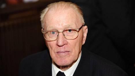 Paavo Korhonen kuvattuna 3. joulukuuta 2008.