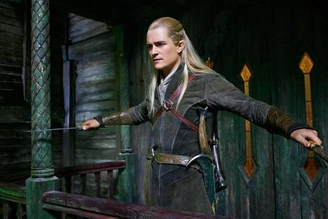 Orlando Bloomin esittämä Legolas-haltia nähtiin jo Taru sormusten herrasta -trologiassa.