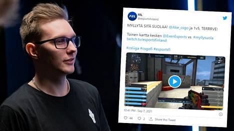 """Sami """"xseveN"""" Laasasen kylmänviileä pelaus toi jackpotin. FEL-liigassa nähtiin myös näyttävä yksilösuoritus."""