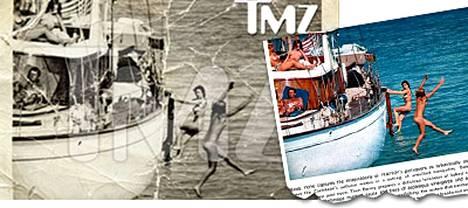 Viihdesaitti TMZ:n käsiinsä saama vanha kuva John Kennedystä oli todellisuudessa peräisin Playboy-lehdestä, eikä ilkamoivien tyttöjen keskellä köllötä JFK vaan valokuvamalli Andy.
