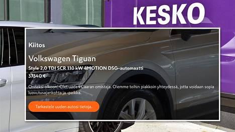 K-Caaran asiakkaan autokauppa meni pahoin pieleen.
