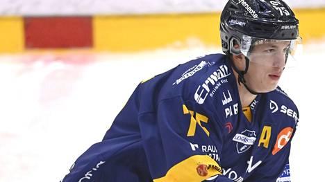 Arttu Ilomäki kuului Lukon ratkaisupelaajiin perjantaina.